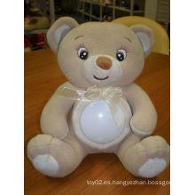 Juguete hermoso del oso de la luz LED de la noche de la venta