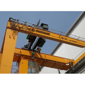 Semi Gantry Crane rasuk tunggal