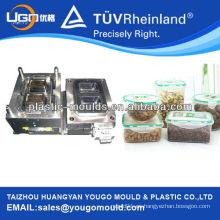 PP almuerzo de alimentos caja de almacenamiento de moldes / cajas de alimentos molde de fabricación / alimentos de plástico de mantenimiento de caja fresca