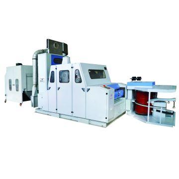 100% Переработанный полиэфирный волокнистый картон Машина для текстильной промышленности