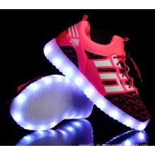 OEM mais recente aluno flash light shoes crianças LED shoes (ff824-3)