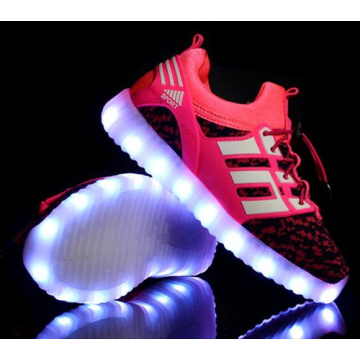 OEM mais recente aluno flash light shoes crianças LED shoes (ff824-3)