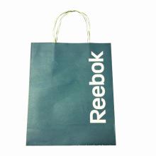 Saco de compras de papel kraft para promoção