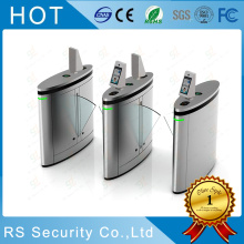 OEM/ODM for Fare Flap Barrier Gate Biometric Access Control System Flap Turnstile supply to South Korea Importers