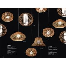 Restaurant Decor Wooden Pendant Lighting (N-013S)