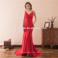 2017 primavera nuevo diseño vestido rojo para las mujeres de la venta caliente bordado cuello redondo sin mangas de las mujeres vestido ocasional de una sola pieza