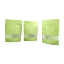 Sac d'emballage de papier de riz de Kraft avec la tirette