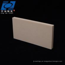 placa de cerâmica queima de alumina personalizada