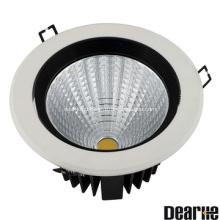 8W/20W Anti-Glare LED Ceilinglight  Beam angle 15'24'38' Die-Casting Aluminum Heatsink Ra80 AC100-260V
