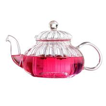 Glass Tea Pots for Flowering Tea Loose Leaf Tea