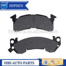 ceramic and semi-metal brake pad for chevrolet El camino, Oldsmobile Cutlass and Pontiac