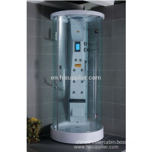 A Touch Sensitive Screen Control Panel With Luxury Modern Shower Cabin