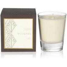 270g Woodfire Soy Candle em caixa de presente
