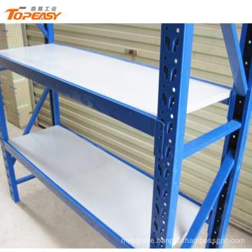 medium duty steel storage 2 layers powder coated plate rack