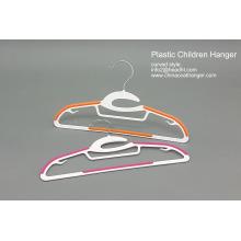 Vente en gros de cintre en plastique d'enfants, enfants pas cher cintre, cintre en plastique de vente chaude