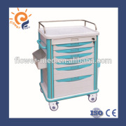 FCA-09 Hospital Equipments Plastic Chemicals Trolley