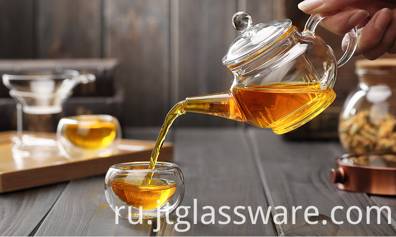 Small Glass Teapot