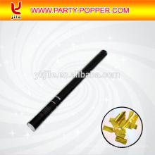 Poppers de partie de confettis d'or / lanceurs de streamer de confettis / tireurs de fléchettes de streamer