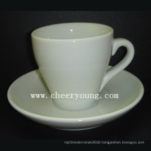 Coffee Cup and Saucer (CY-P571)