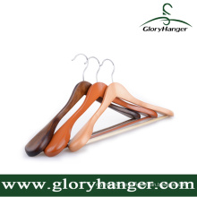 Perfekter Holz Anzug Kleiderbügel, Logo Akzeptiert und Custom-Builded