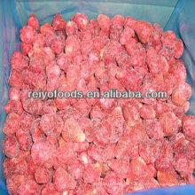 Kasten gefrorene Erdbeeren