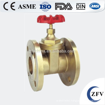 Hot sale factory price dn15-150 brass rising stem sluice gate valve