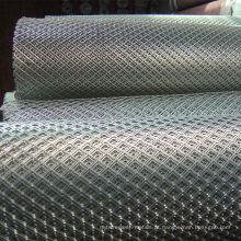 Aço galvanizado expandir malha metálica