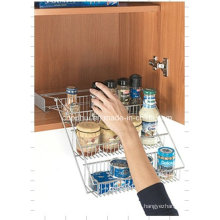 Coated Wire Cupboard Storage Rack (LJ3002)