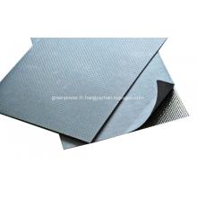 Feuille de graphite renforcée avec du métal tangué