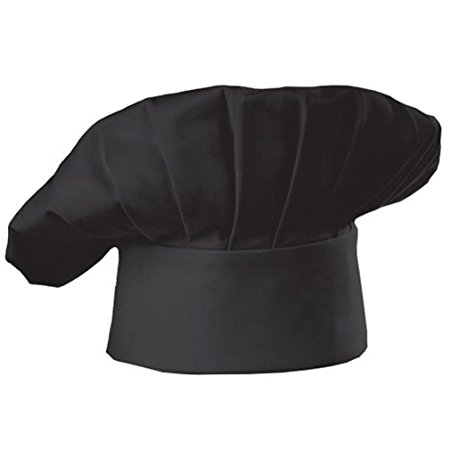 cooking chef hat black