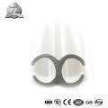 durável e melhor preço liga de alumínio extrudado keder profil para tenda