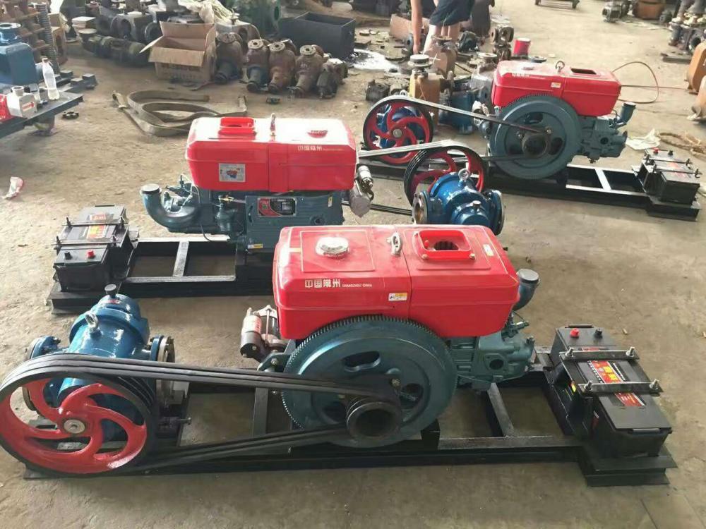 belt driven pump