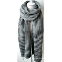 Châle en acrylique tricoté (12-BR201812-13)