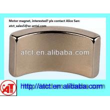 Cast Magnet Rare Earth gesintert NdFeB motor magnet