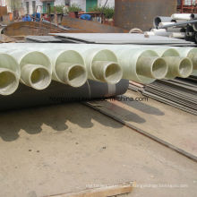 Fiberglass / FRP Thermal Insulation Duct for Hot Medium