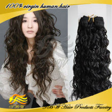 2014 cabelo humano quente de venda quente do Virgin do cabelo humano de 100%