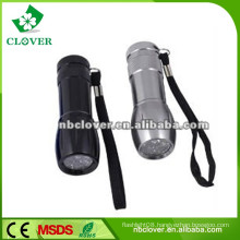 Promotion LED flashlights pocket torch / flexible torch / pen torch