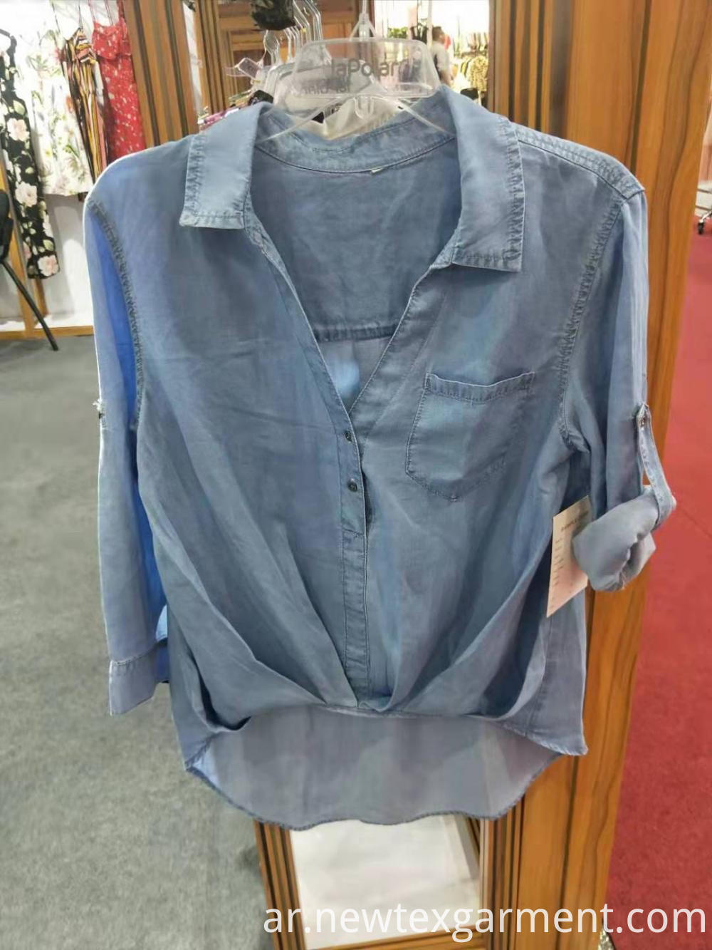 Ladies Lyocell Blouse
