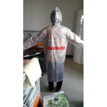 Imperméable promotionnel en PVC adulte en gros