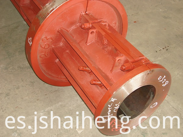 Concrete pole mould 1