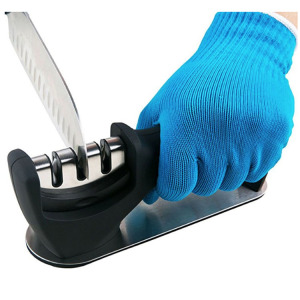 Blue Fashion Acid-resistant Anti-corrosion Gloves
