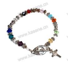 Fashion Crystal Bracelet, Rosary Bracelet