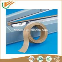 FDA одобрение Высокое качество Высокая температура жаропрочность 260 C ptfe тефлоновая липкая лента