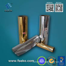 Metalized Thermal Laminating Film, Gold, Silver