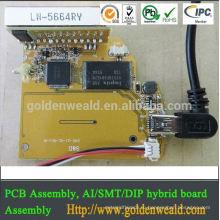 электрический контакт для монтажа системы контроля доступа с pcba