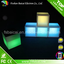 LED Cube Furniture Illuminated LED Cube Chair