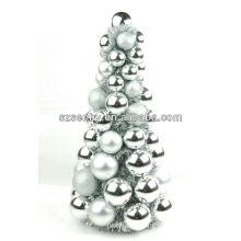 Hand made decorative plastic Christmas ball tree