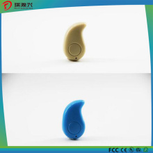 colorful mini mono bluetooth earphone with BQB, FCC, CE, RoHS certificates