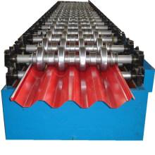 Máquina formadora de rolo de telhado trapezoidal tipo 725 mm