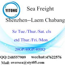 ميناء شنتشن الشحن البحري الشحن إلى Laem Chabang